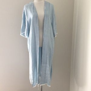 NWT Chambray Duster